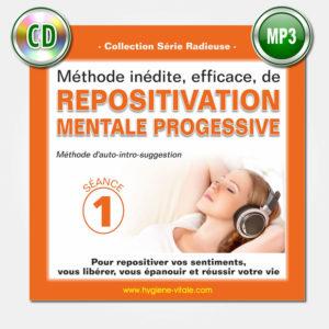 Repositivation mentale - Grégoire Jauvais - séance 1 - mp3-CD
